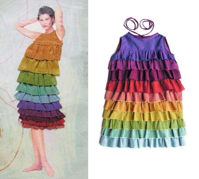 бурда шифоновые платья